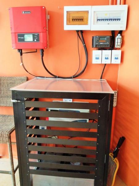 hybrid upgradable solar setup