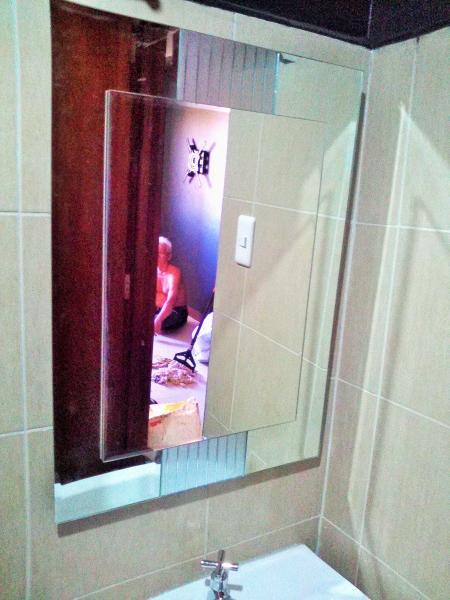 bathroom mirror provision