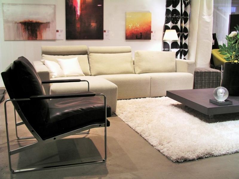 elegantly simplified living room maximization