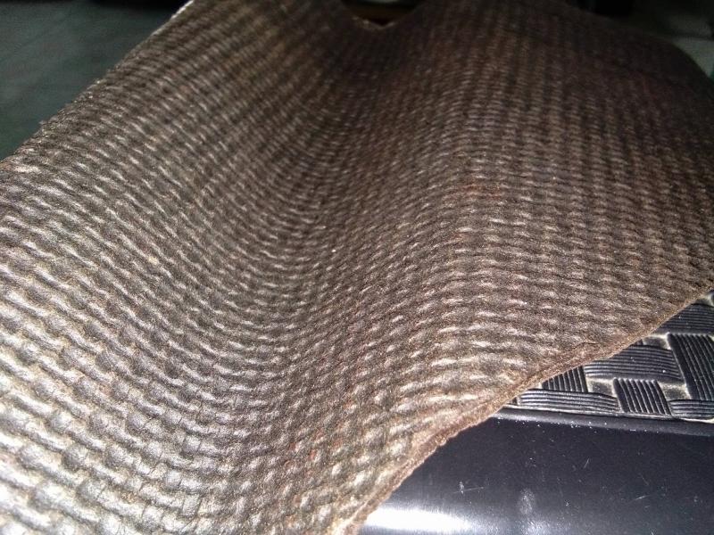 onduline material close up
