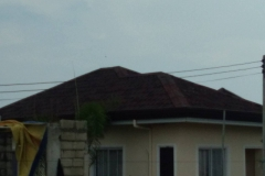 onduline roofing as required by paramount realty for fonde di versailles