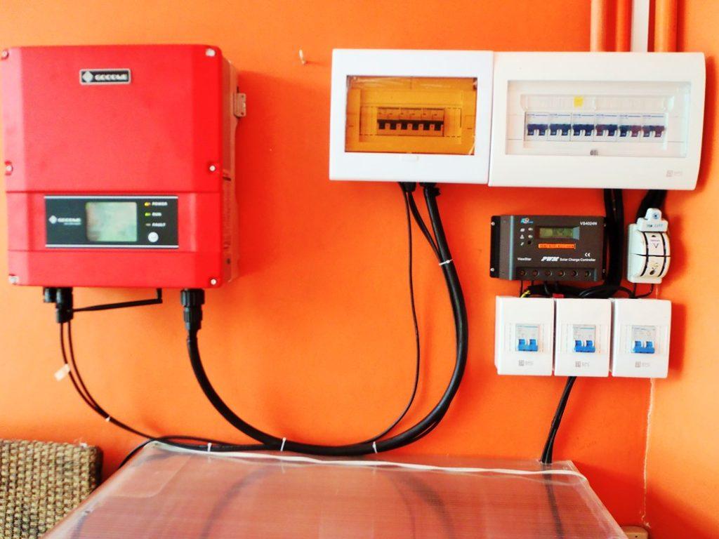 3 kW hybrid upgradable solar setup